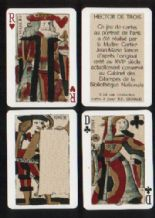 Playing cards Hector de Trois
